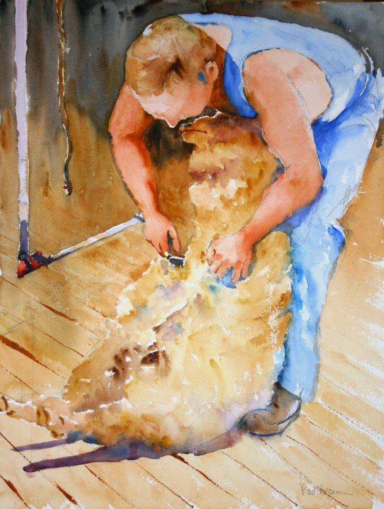 Shearer at Work